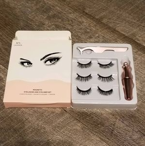 Magnetic lashes and liner kit